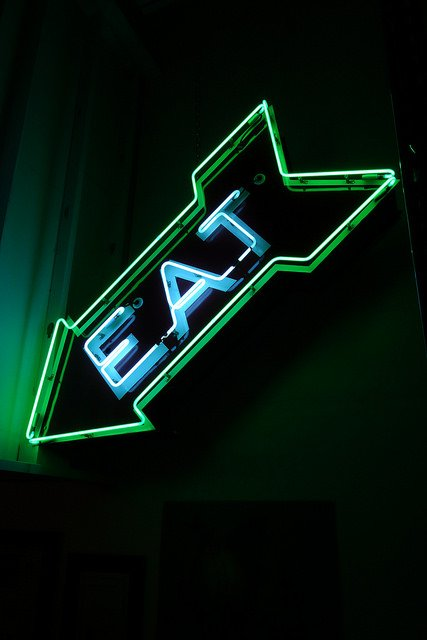Neon Dreams: The Signs of Restaurants Past