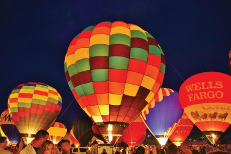 September 19 & 20: The Great Forest Park Balloon Race & Balloon Glow