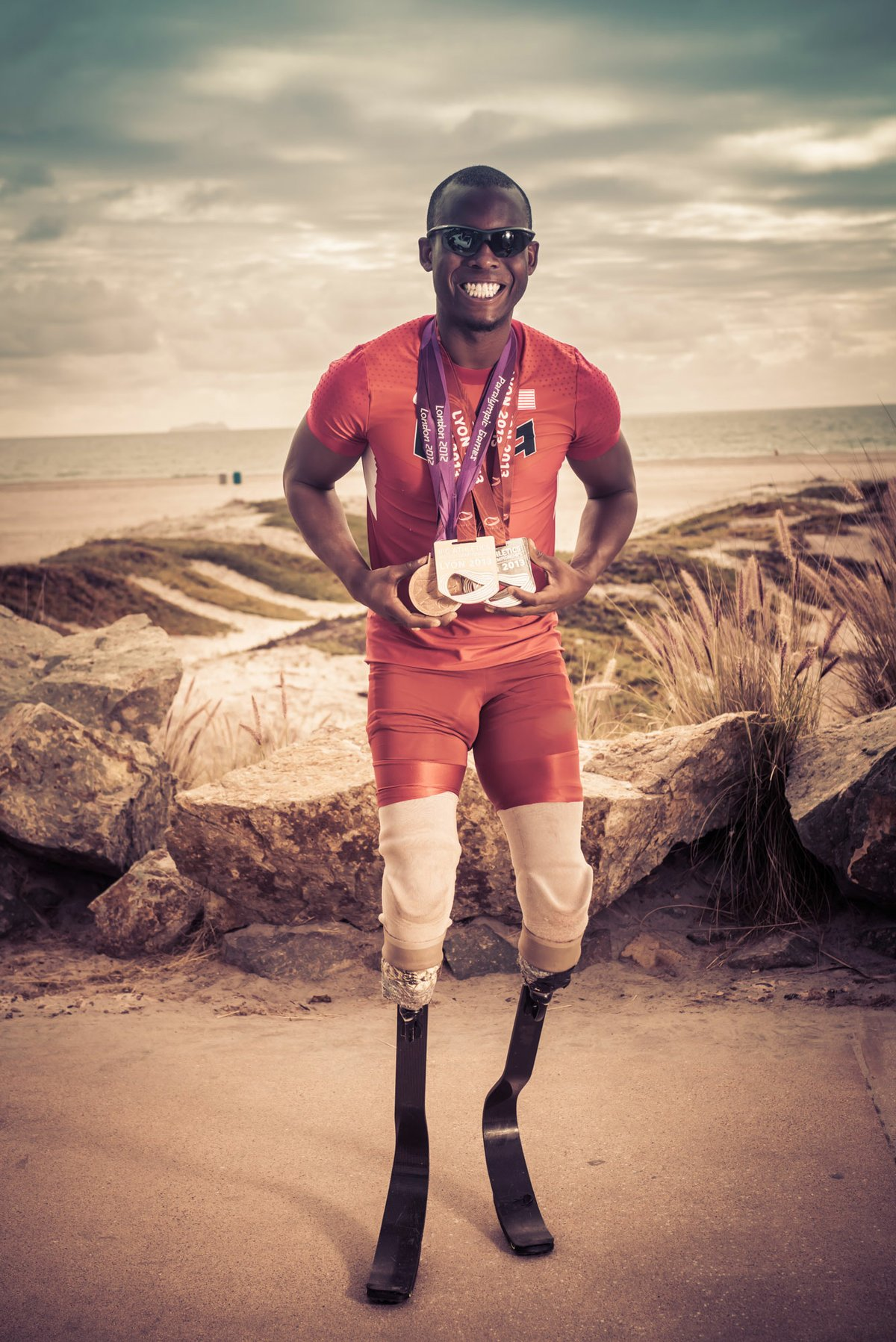 Paralympic Blade Runner Blake Leeper to Appear at Sunday's