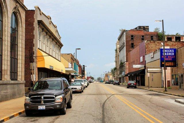 Naffziger Looking Up Collinsville Avenue.JPG