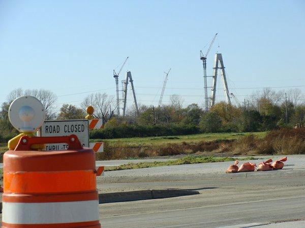 Naffziger New Bridge Rising Above Stockyards.jpg