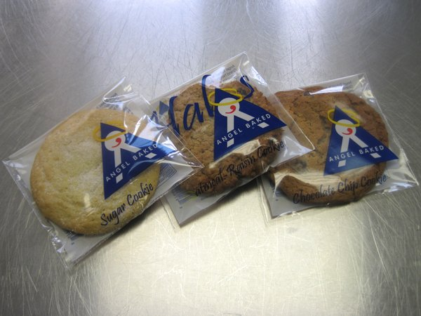 Individually Wrapped Angel Baked Cookies Fresh And Ready To Go At The Checkout Lanes Selected Area Schnucks Stores