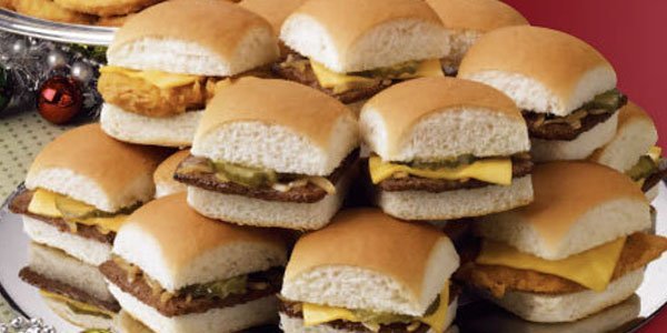 Oh no they didn t white castle drops a veggie slider st for White castle double fish slider with cheese