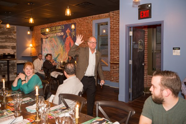 Table Talk Series Dinner Presented By St Louis Magazine At Juniper Restaurant In