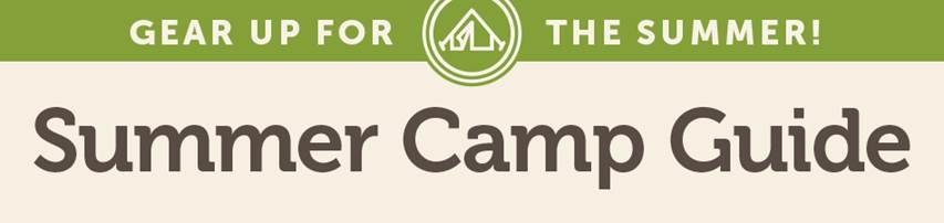 Summer Camp Guide 2015 Banner