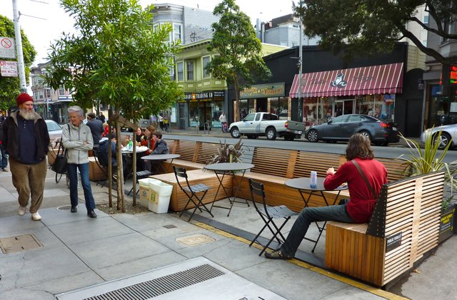 It S A Patio It S A Deck It S A Public Parklet