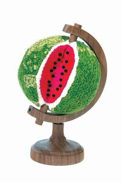 Sonya Clark. Watermelin World, photocredit.Taylor Dabney.jpg