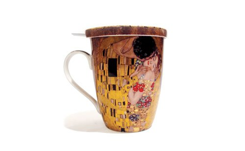 St. Louis Gift Guide Klimt Tea Mug