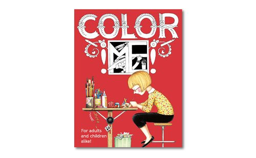 St. Louis Gift Guide Mary Engelbreit Color Me coloring book