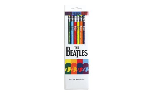 St. Louis Gift Guide The Beatles pencil set