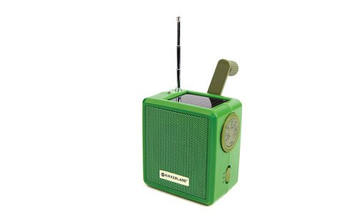 St. Louis Gift Guide Solar-powered radio