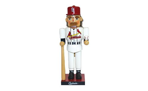 St. Louis Gift Guide Cardinal baseball nutcracker