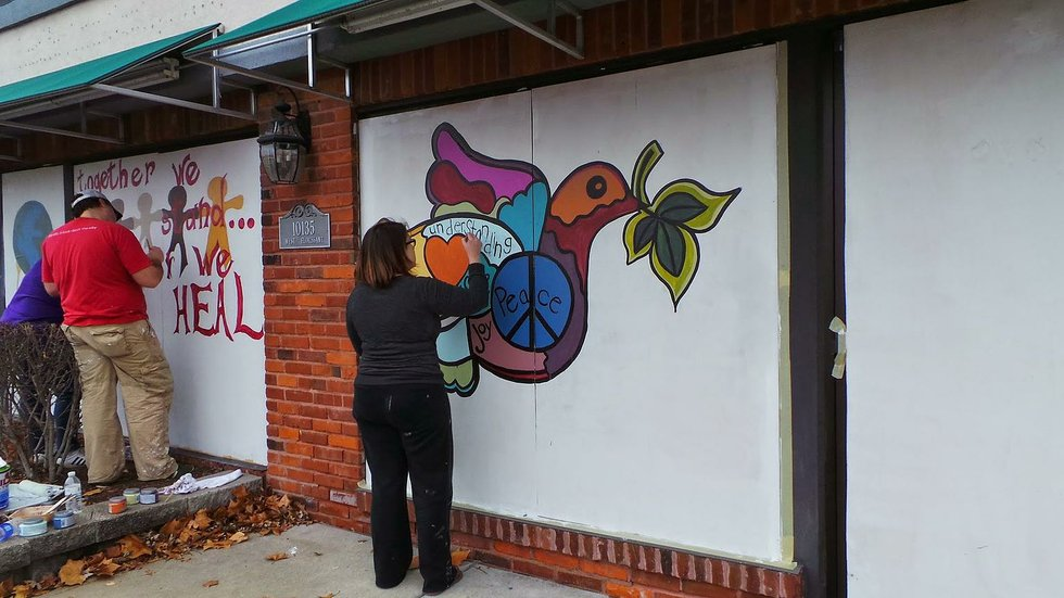 Painting for Peace: Why Artists Are Coming to Ferguson Armed With Paintbrushes