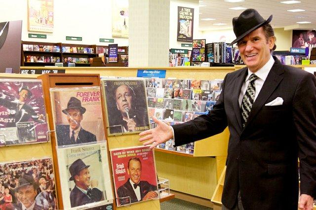 Tony Viviano with Sinatra Records 001.jpg