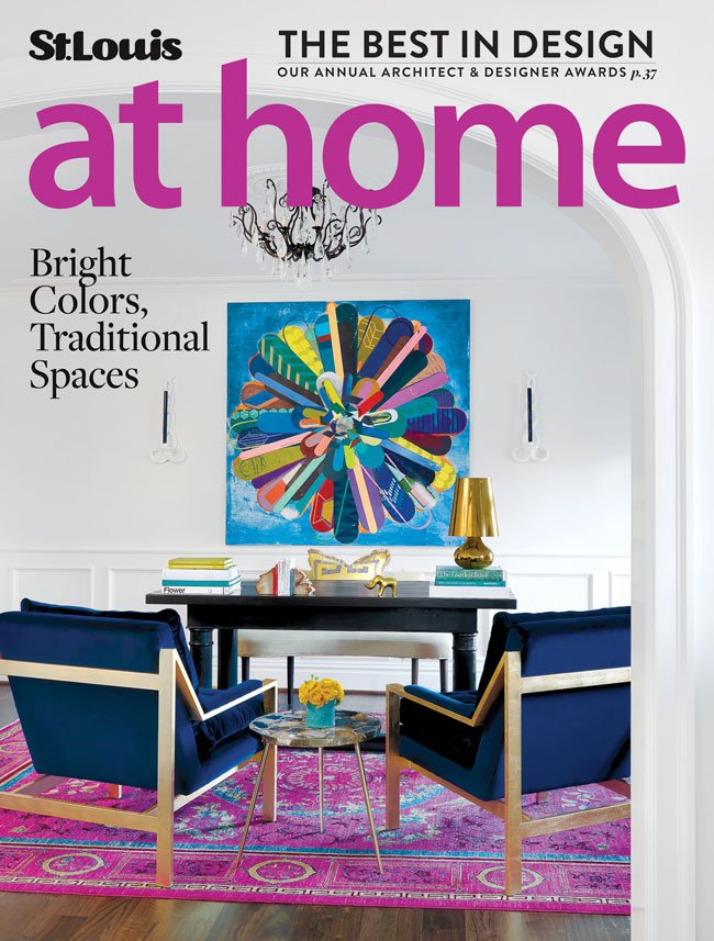 St. Louis At Home March/April 2016 cover