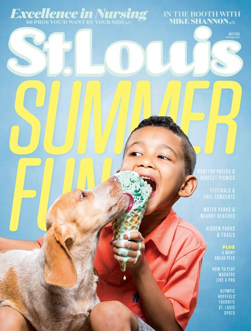 St. Louis Magazine May 2016 Cover