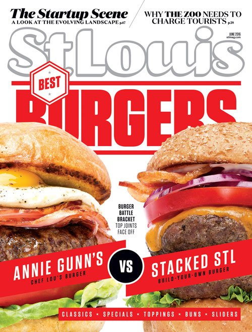 St. Louis Magazine June 2016 Cover