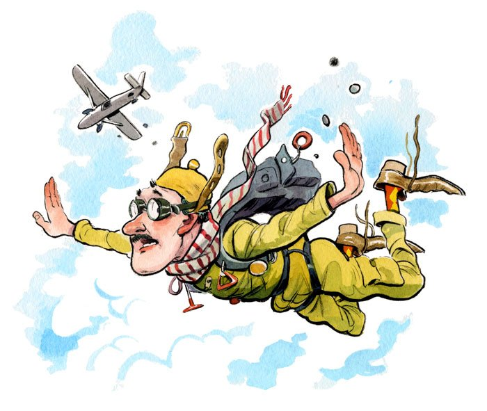 Was the First Parachute Jump From an Airplane in St. Louis?