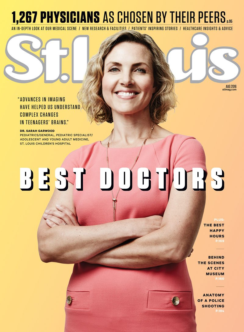 St. Louis Magazine August 2016 Cover