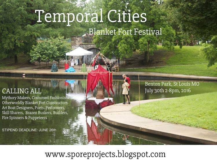 This Weekend Temporal Cities Blanket Fort Festival Will Transform Benton Park Into an u201cInteractive Playscapeu201d & This Weekend Temporal Cities Blanket Fort Festival Will Transform ...