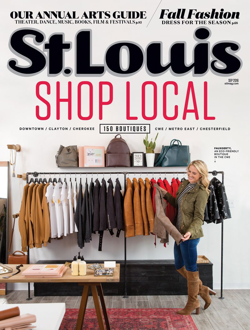 St. Louis Magazine September 2016 Cover