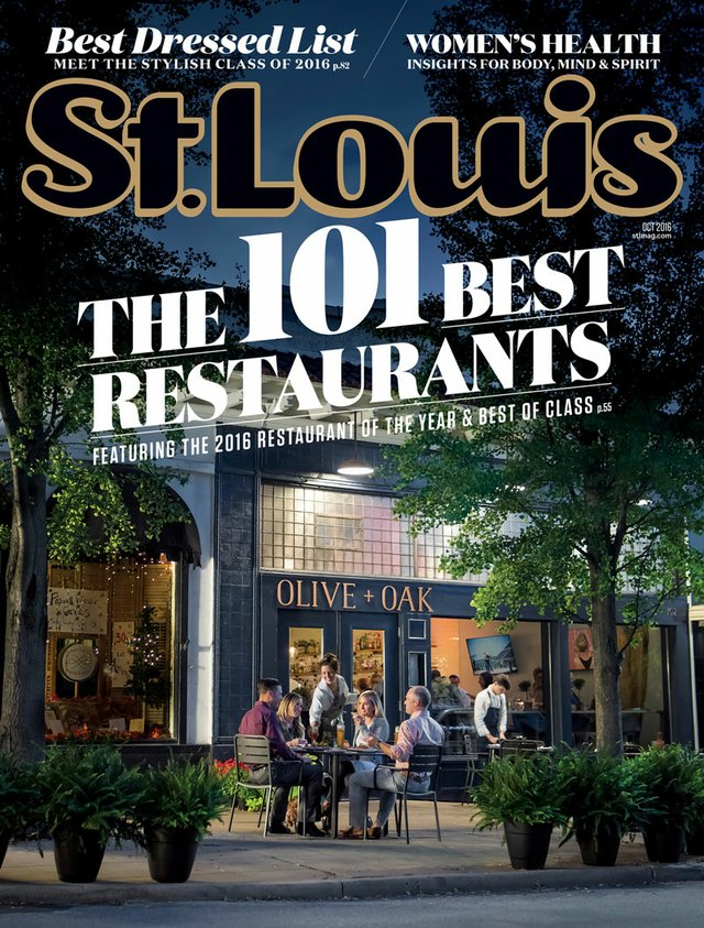 October 2016 St. Louis Magazine Cover