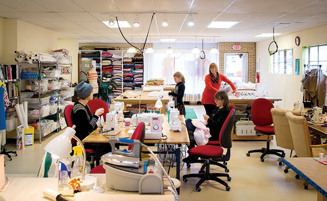the city sewing room weaves together camaraderie and an