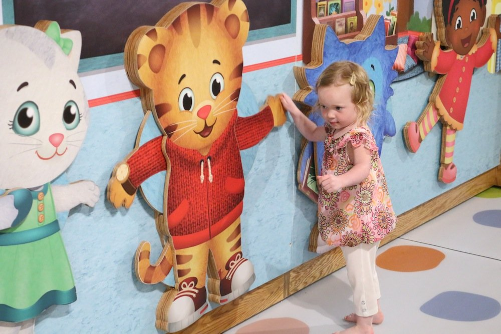 df3c1e89394aa Kids can explore the neighborhood of Daniel Tiger at The Magic House s new  exhibit