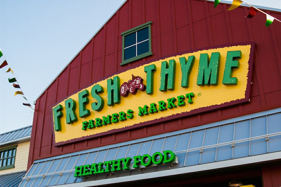 Fresh thyme farmers market opens in kirkwood for Outdoor living kirkwood