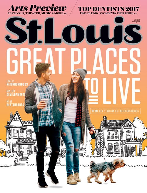 St. Louis Magazine Cover April 2017
