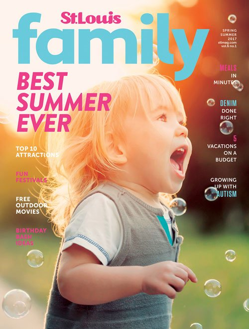 St. Louis Family Spring Summer Cover 2017