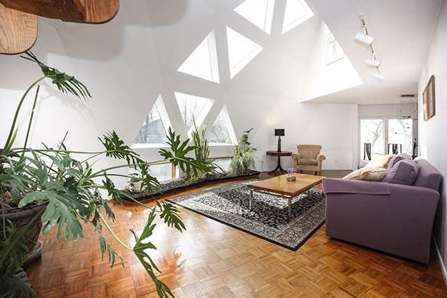 dome home interior design these geodesic domes in creve coeur could be yours for 17398