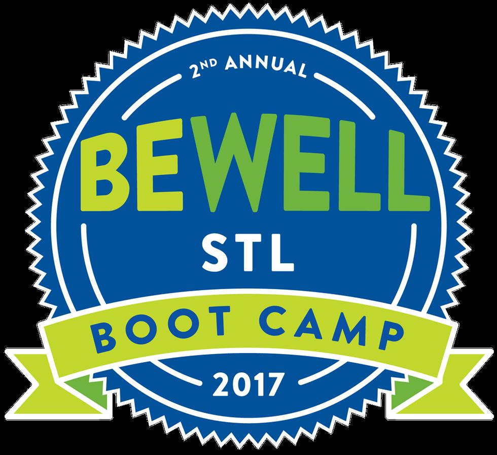 Be Well STL logo