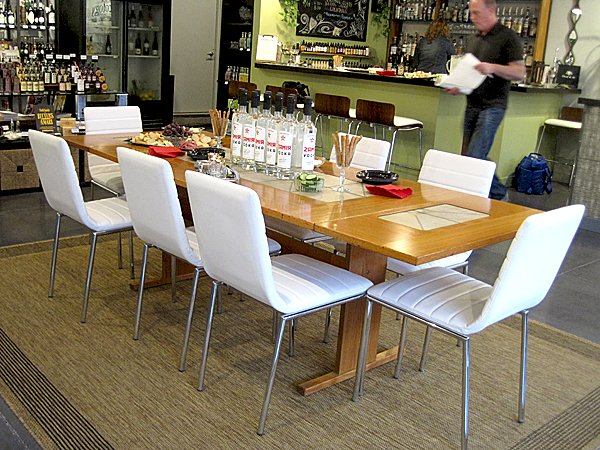 tasting Danish modern table set w vodka.jpg