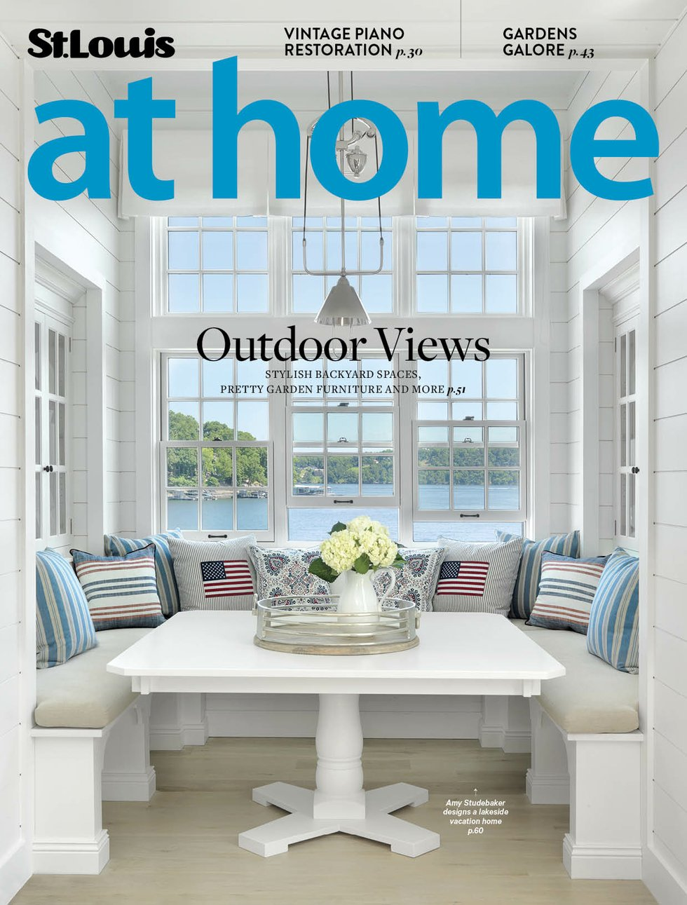 St. Louis At Home May June Cover 2017