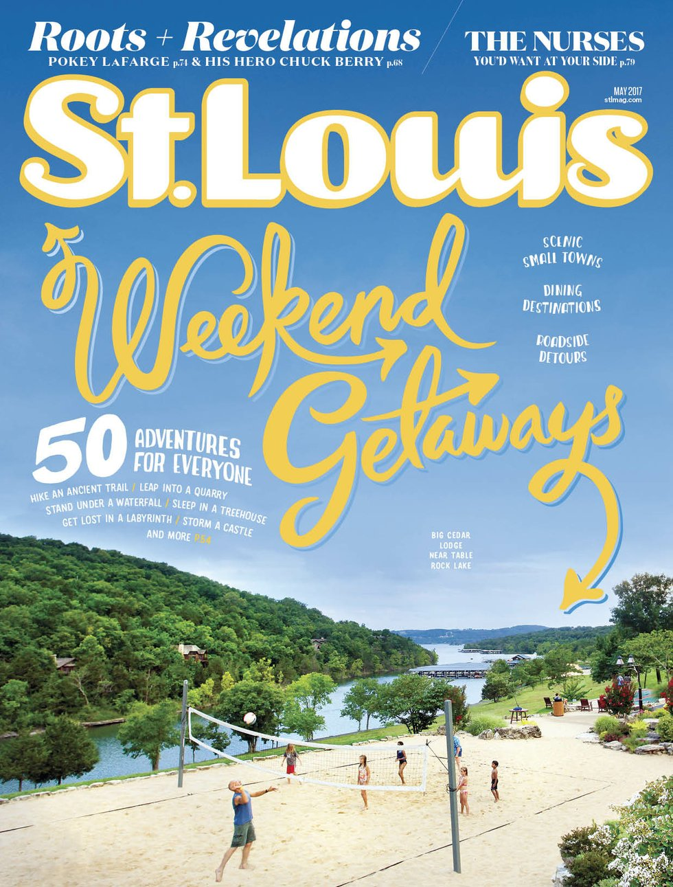 St. Louis Magazine May 2017 cover