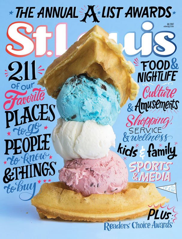 St. Louis Magazine July 2017 Cover