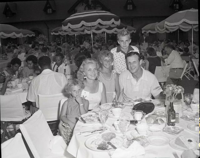 Stan Musial and his family at Grant's Farm.jpg