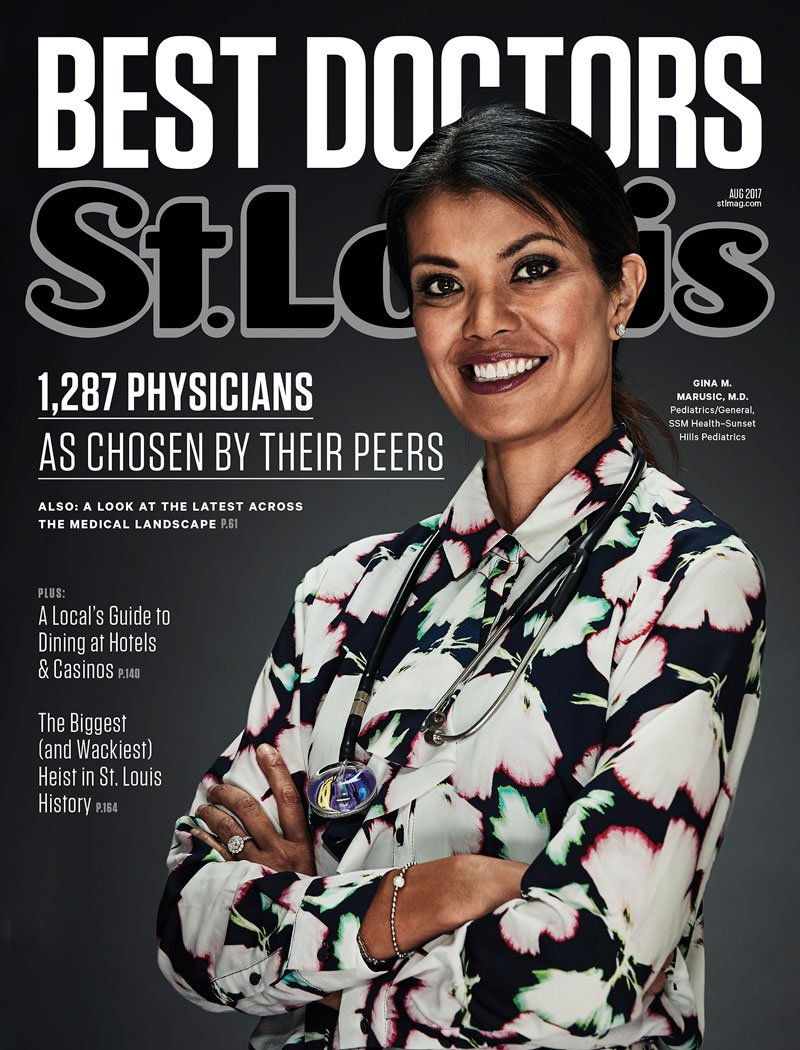 St. Louis Magazine August 2017 Cover