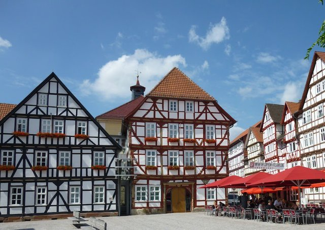 View of the Market Plaza, Eschwege. Courtesy of Tourist-Information Eschwege.jpg