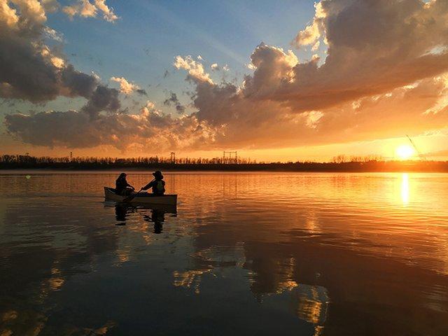 Sunset w Canoe - 1.jpg