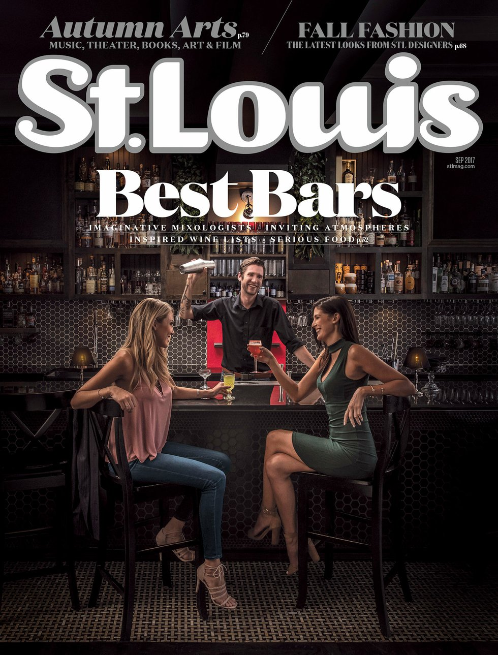 St. Louis Magazine September 2017 Issue Cover