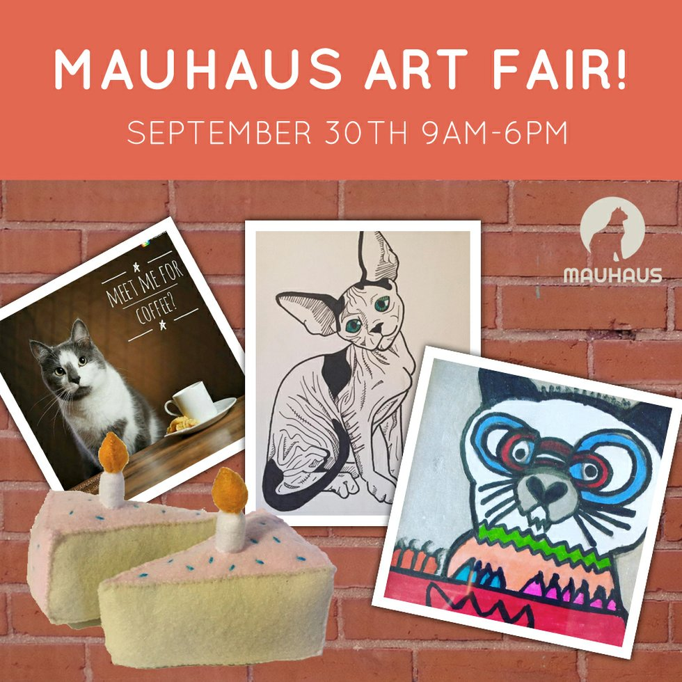 Mauhaus Holds St Louis Very First Cat Art Fair This
