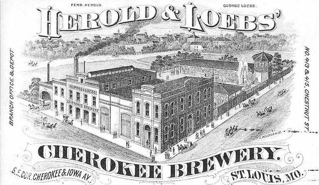 Cherokee Brewery Post Card, Courtesy of Norbert Loebs.jpg