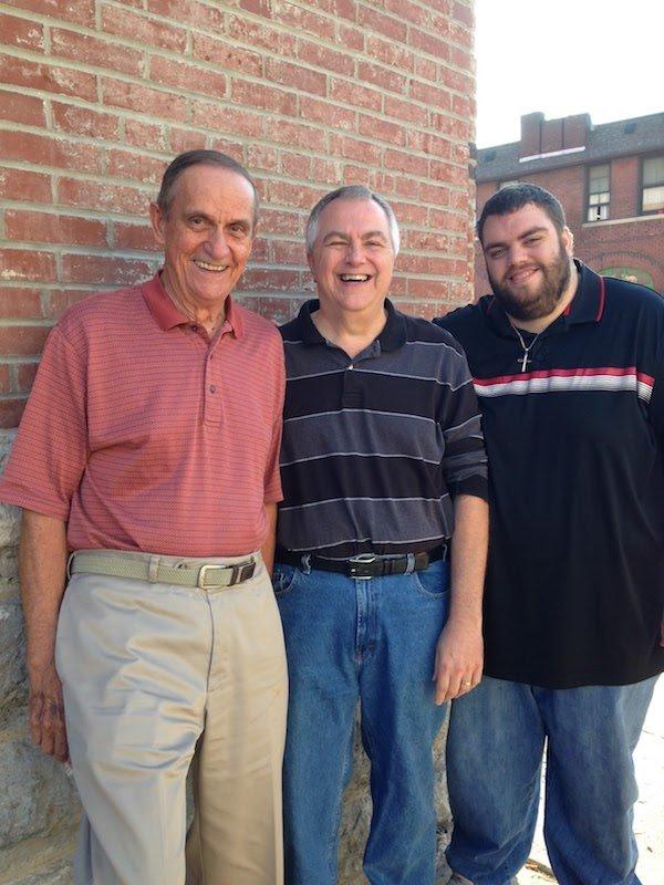 Norbert Loebs, Roger Kutschkau and Tim Kutschkau in front of Earthbound Beer, Photo by Chris Naffziger.jpg