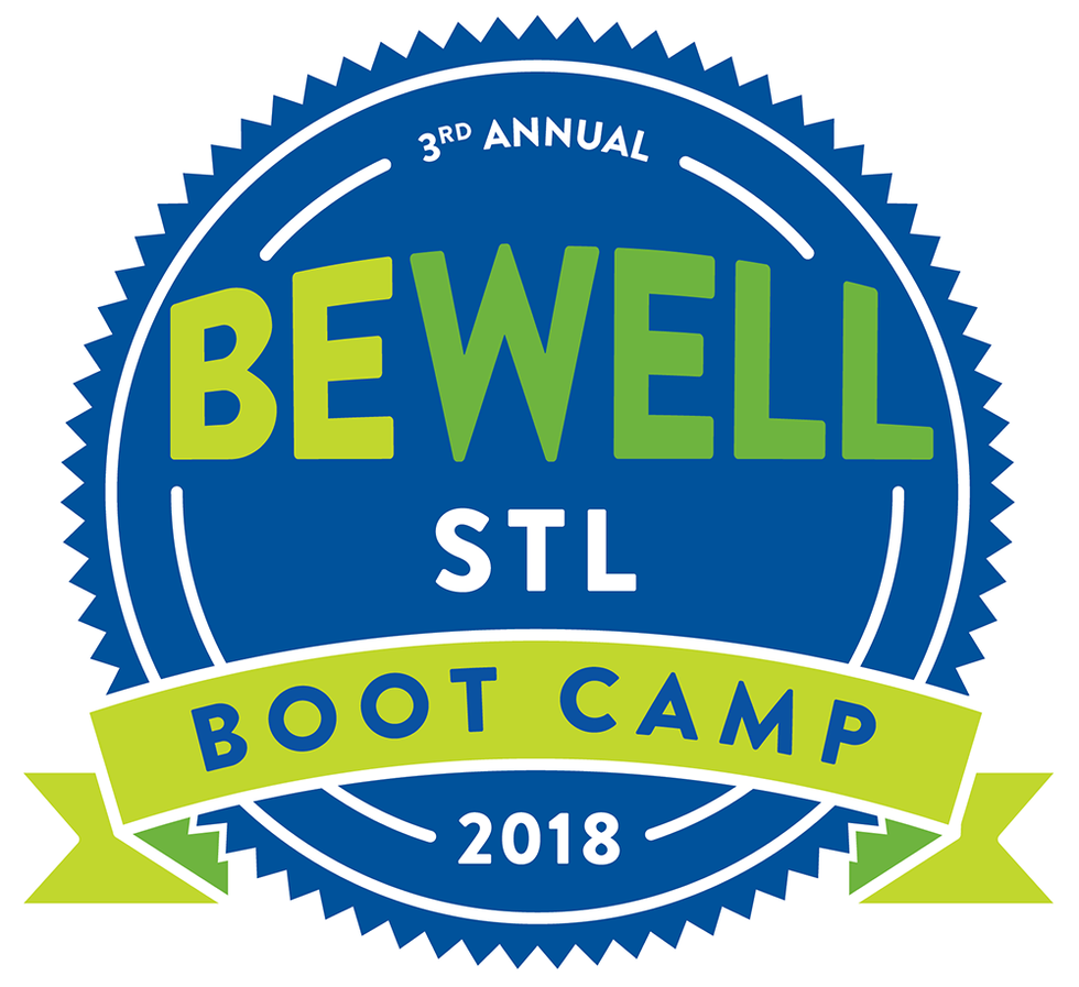 Be Well STL logo