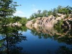 Elephant Rocks quarry pond