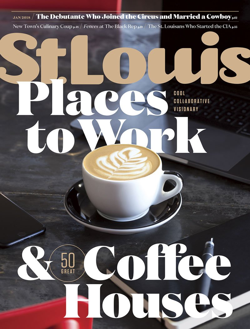 St. Louis Magazine January 2018 Issue Cover