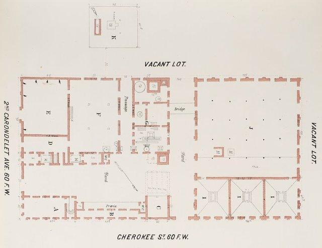 Detail of Groundplan of Lemp Brewery, Whipple Special Risk Book, 1876, Missouri History Museum.jpg