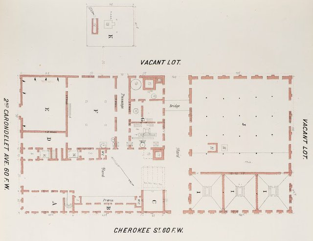 Detail of Groundplan of Lemp Brewery, Whipple Special Risk Book, 1876, Missouri History Museum.jpg